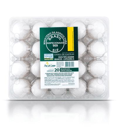 Ovos Galinhas Livres – 20